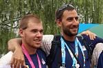 Břeclavský veslař Lukáš Helešic získal střibro na olympiádě mládeže v Číně.