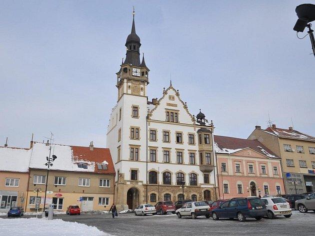 Hustopečská radnice.