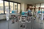 Výstava unikátních fotografií spolku Modrá vážka v břeclavské nemocnici.