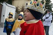 Tři králové koledovali ve Staré Břeclavi.