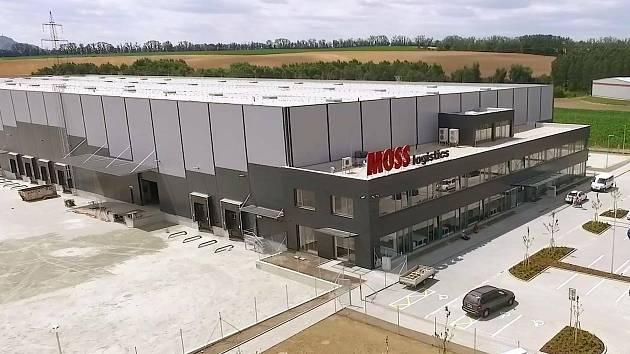 Hustopečská společnost Moss Logistics dokončila stavbu nového logistického areálu.