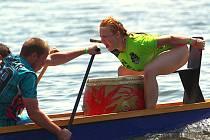 Jedenáctý ročník Gemini pálavského festivalu dračích lodí v Pavlově.