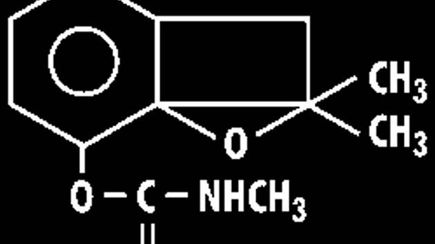 Vzorec karbofuranu