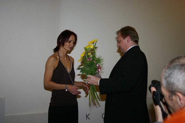 Vyhlášení ankety Sportovec roku 2007 vyhrála Martina Šestáková.
