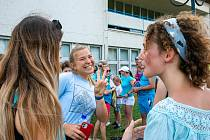 Tanec Jerusalema Dance Challenge si mohli lidé zatančit tuto neděli v Břeclavi.