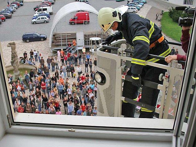 hasičské cvičení