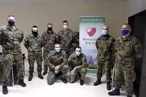 V břeclavské nemocnici pomáhají vojáci.