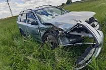 Původní auto bylo po nehodě neopravitelné