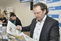 Mikulovský starosta Rostislav Koštial.