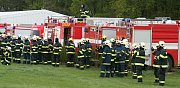 V Břeclavi se uskutečnilo společné cvičení hasičů a letecké služby. Cílem bylo vyladit souhru při likvidaci rozsáhlých požárů trávy či lesa.