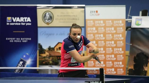 Aneta Širůčková byla v posledních zápasech stoprocentní.