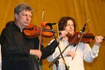 Vystoupení Hradišťanu s Jiřím Pavlicou přerušila bouřka.
