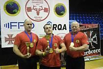 Siloví trojbojaři z Podivína uspěli ve Finsku.