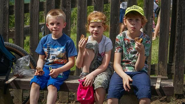 První červnová sobota v Kloboukách u Brna patřila dětem. Na své si přišli i jejich rodiče.
