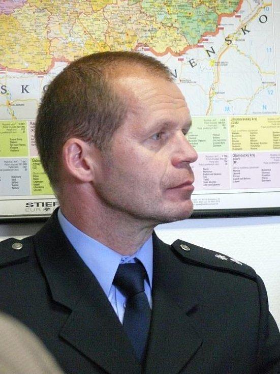 Mluvčí jihomoravských policistů Bohumil Malášek.