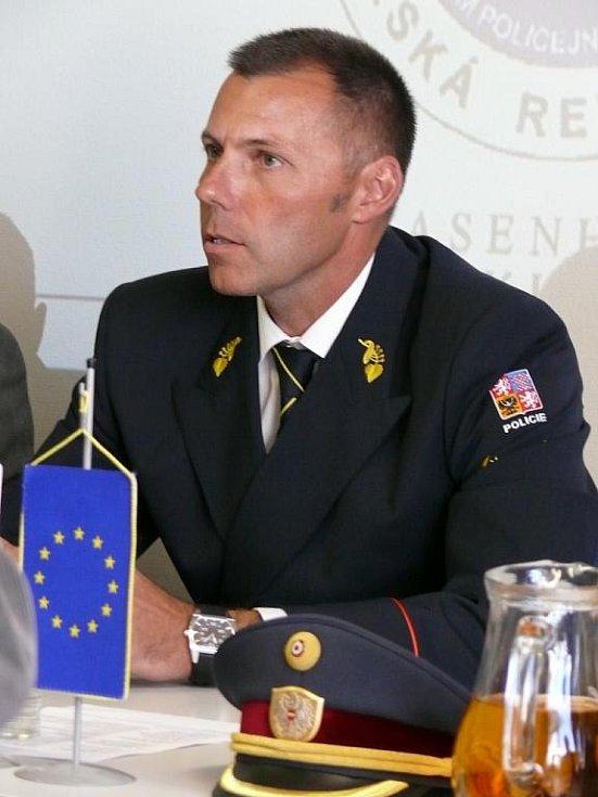 Šéf jihomoravských policistů Tomáš Kužel.