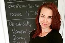Cukrářka Hana Cupalová.