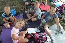 Malí turisté z lednického oddílu Oslíci si užili příměstský kemp,