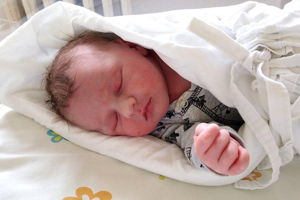 Ondra Matýs, 29. dubna 2020, Slavkov u Brna, Nemocnice Vyškov, 50 centimetrů, 3650 gramů.