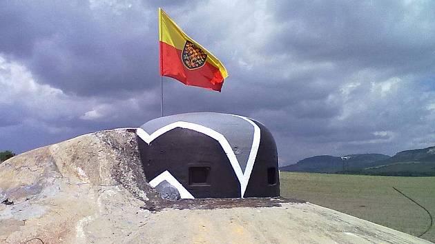 Pěchotní srub MJ-S 29 Svah u Mikulova. Jedná se o jedinou dokončenou pevnost v úseku Mikulov z roku 1938, která později sloužila armádě až do roku 1999.