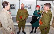 Vernisáž výstavy, která je věnovaná památce válečných veteránů, se uskutečnila v sobotu v břeclavském Domě školství.