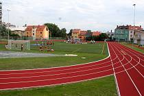 Nové sportoviště v areálu Základní školy Slovácká v Břeclavi. Ilustrační fotografie.