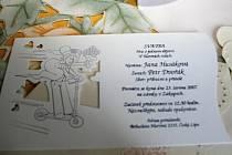 Svatební oznámení. Ilustrační foto