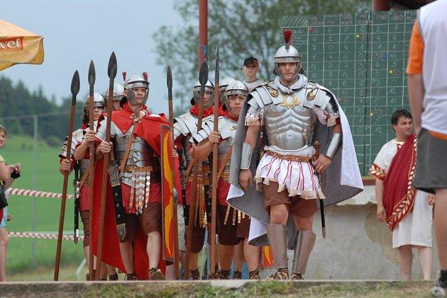 Římská legie v Pasohlávkách