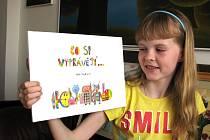 Dvanáctiletá dívka Julie Vojtková si napsala i ilustrovala knihu.
