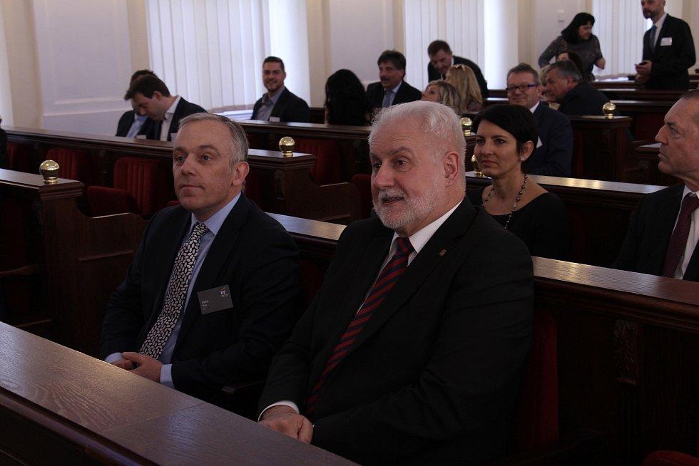 Bohumil  Šimek, hejtman Jihomoravského kraje.