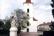 Kostel v Rakvicích.