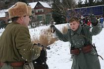 Bitva Rusů s Němci v Němčičkách.
