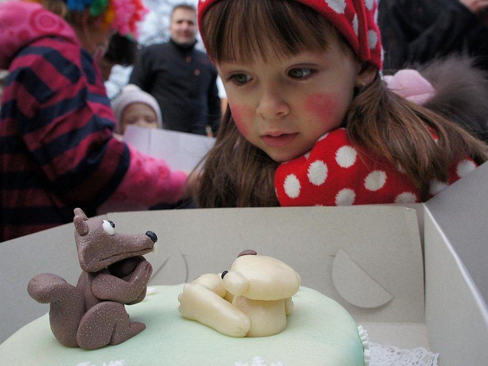 Karneval masek v Mikulově.