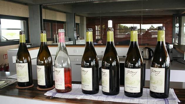 Popické vinařství Gotberg.