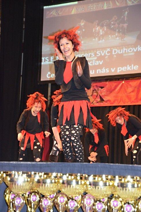Břeclavští tanečníci vytančili v pražské Lucerně jedenáct medailí.