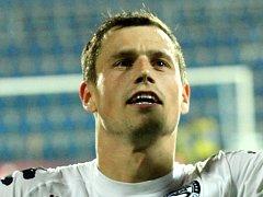 Ofenzivní záložník 1.FC Slovácko Jaroslav Diviš.
