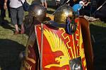 Hradisko u Mušova na Brněnsku hostilo první ročník Římsko-barbarského festivalu Germania subacta