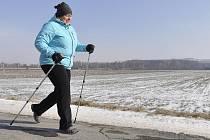 Hana Celnarová si nordic walking oblíbila v Chorvatsku.