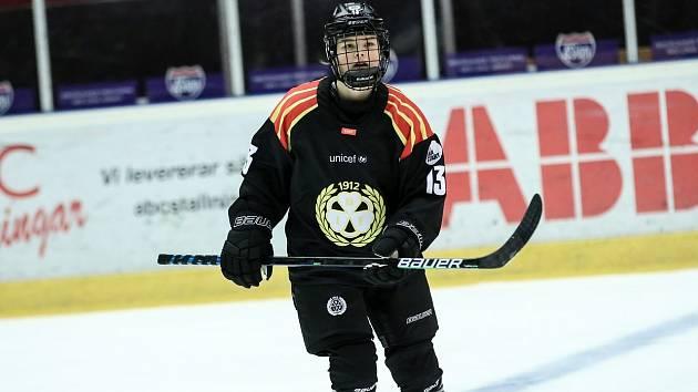 Sára Čajanová si zahrála v dresu Brynäs finále švédské ligy.