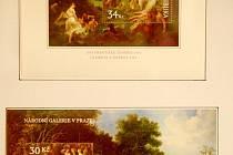 Jaroslav Slezák z Němčiček poodhalil veřejnosti část své rozsáhlé sbírky prostřednictvím výstavy Výtvarné umění na československých a českých poštovních známkách.