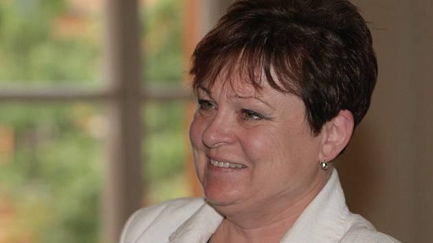 Bývalá starostka Moravské Nové Vsi Jana Krutáková.
