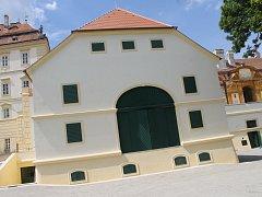 Barokní divadlo ve Valticích.