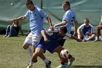 Horní Věstonice zaplnili o víkendu amatérští fotbalisté z celé republiky.