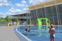 Plánovaná podoba akvaparku v Pasohlávkách.