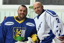 Bývalí hokejisté Colliga Břeclav se utkali se starou gardou Zetoru Brno.