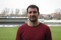 Trenér fotbalistů MSK Břeclav Ivan Dvořák.