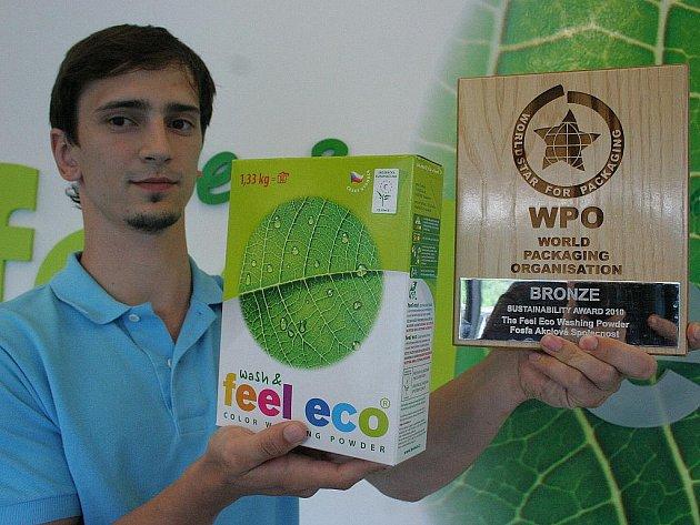 Břeclavská společnost Fosfa získala světové ocenění za svůj obal Feel Eco.