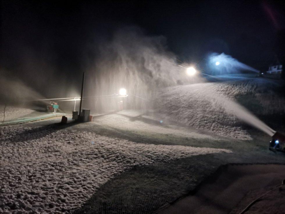 V Němčičkách na Břeclavsku už se letos lyžovat nebude.