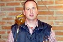 Vinař Radek Krejčiřík z Velkých Pavlovic.