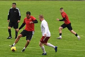 Fotbalisté Velkých Pavlovic v přípravě zdolali juniorku Sparty Brno 4:2.